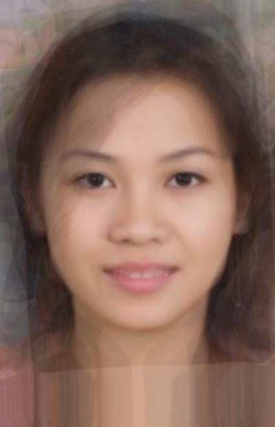 Average Vietnamese Female